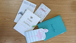 Colourful stationery helps Zoe Bishop stay organised with her copywriting clients