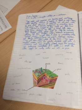 KS2 example geography classwork