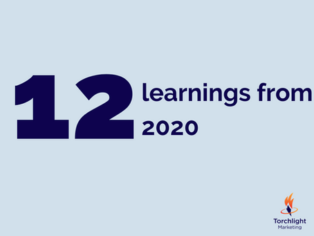 My 12 learnings from 2020