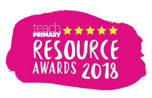 Teach Primary Resource Awards 2018 Winners Badge
