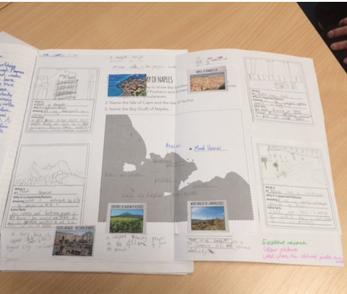 Example classwork Naples and Campania Key