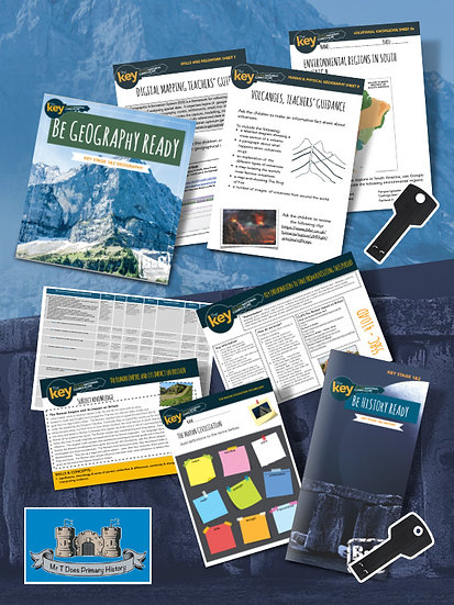 Be Geography Ready and Be History Ready Catch Up Package