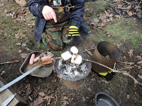 Global learning in my local Forest School – Dr Des Bowden