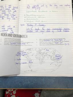 Example classwork using the Amazon Basin Key