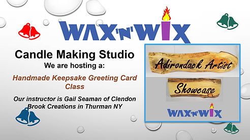 Wax 'n' WiX Make a Wood Sign Class