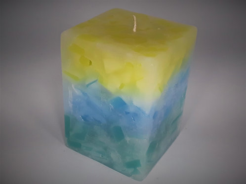 Large Square Candle