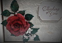 Handcrafted 3 D Flower Card