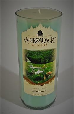 Branded Wine Bottle Candle