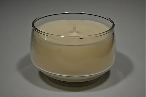 7 oz Soy Blend Clear Glass Candle