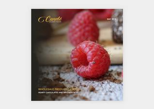 Canelé Catalog Cover