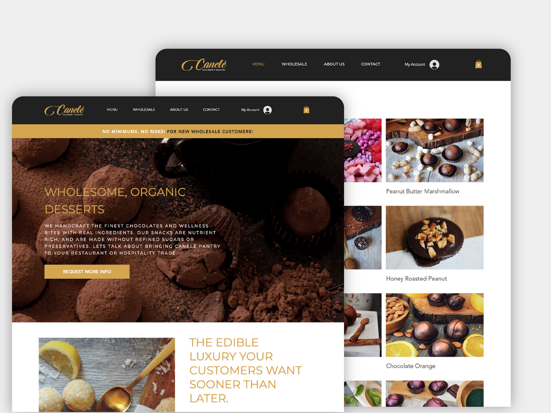 Canele Pantry Website