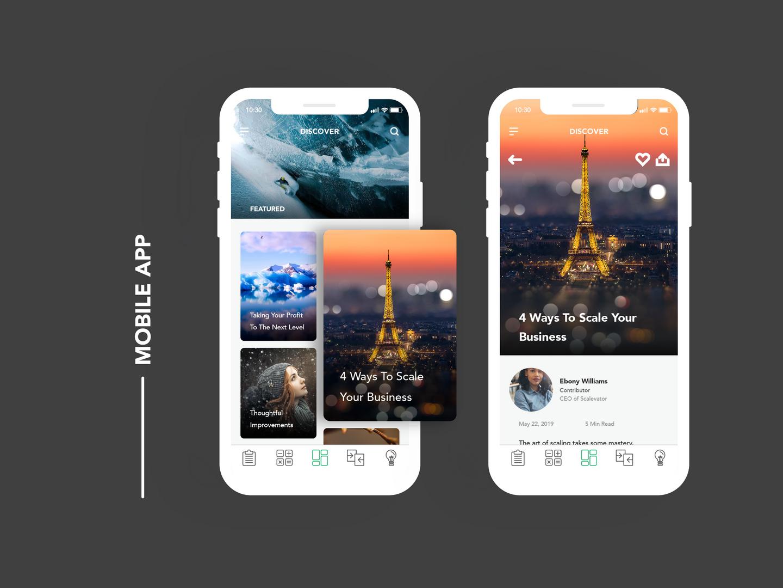 Prophit App UI