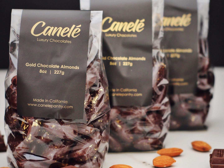 Canelé Chocolate Almonds