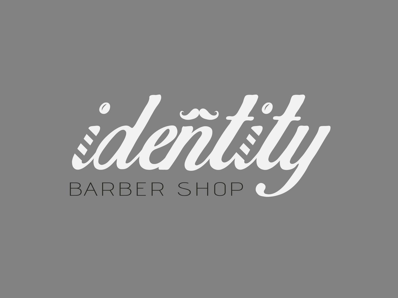 Identity Barber Shop Logo