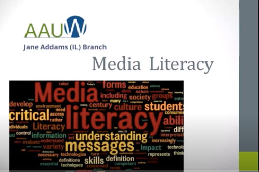 Media Literacy Presentation for AAUM Jane Addams Branch