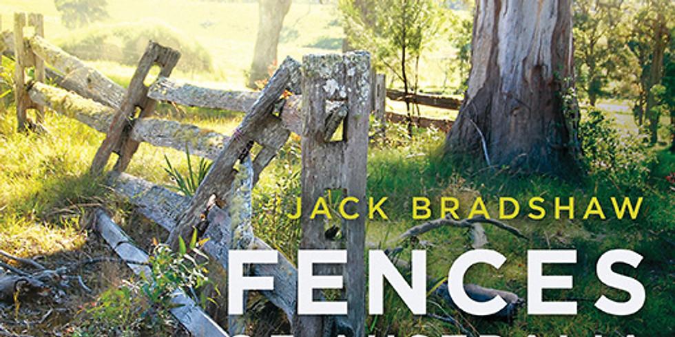 "Book Launch Jack Bradshaw's  ""Fences of Australia"""