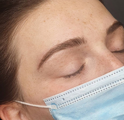 microblading with soft shading