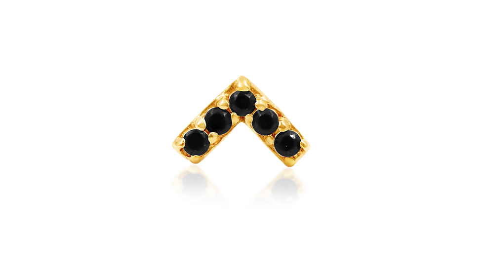 Chevron Black CZ