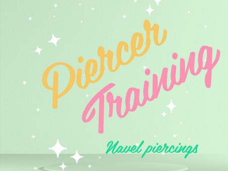 Piercer training!