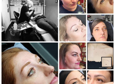 Best of 2019 Cosmetic tattooing