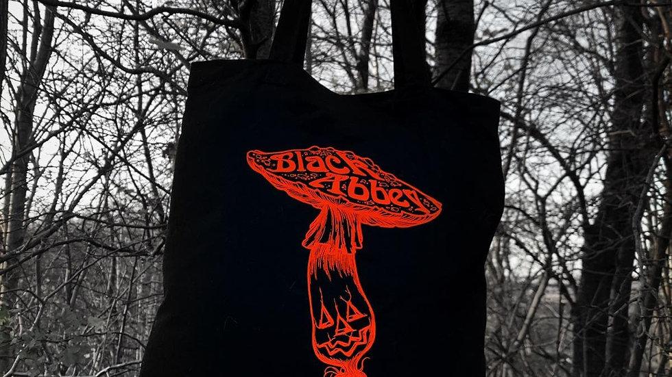 Black Abbey Tote Bag