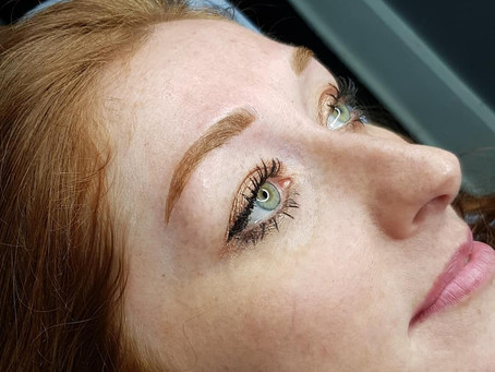 Beautiful new brows :)
