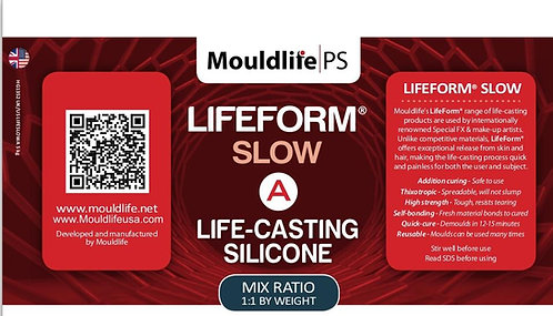 LifeCasting Silicone LifeForm SLOW SET