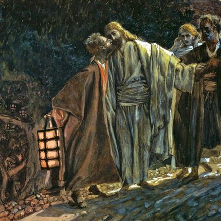 The Arrest of Jesus in Gethsemane