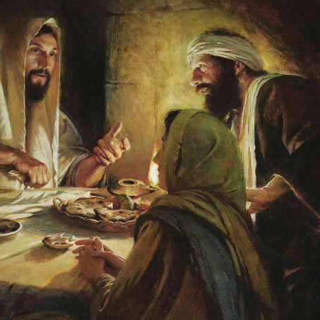Jesus Explained the Scriptures on the Emmaus Road
