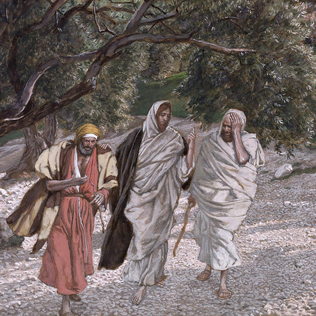 Jesus with Two Disciples on the Emmaus Road
