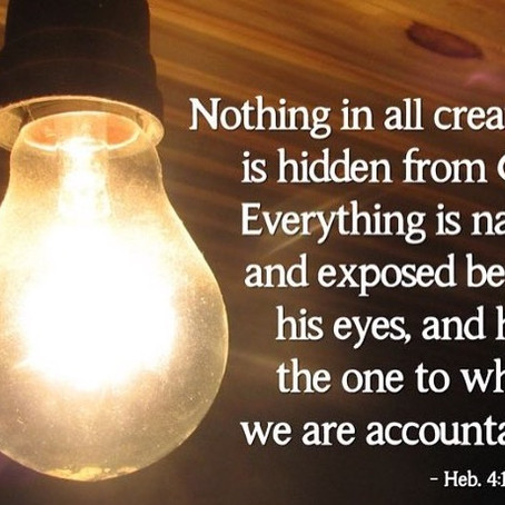 Nothing is Hidden from God; He Sees Everything.