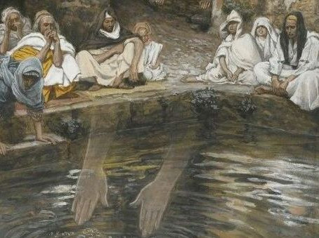 The Healing of an Invalid at the Pool of Bethesda