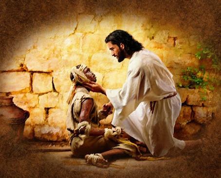 Jesus Heals a Leprous Man