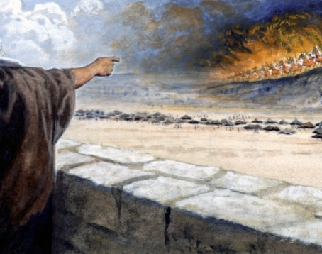 The Coming of Jesus in Blazing Fire