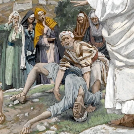 Jesus Casts Out a Demon from a Boy