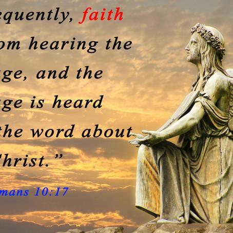 Communication of the Word of God Sparks Faith