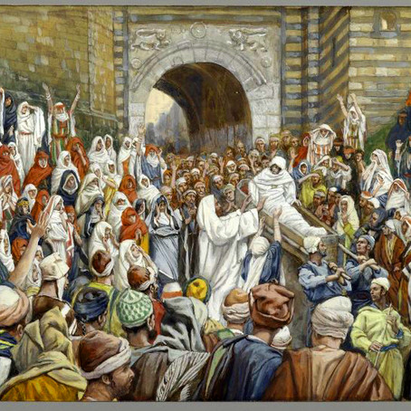 Jesus Raises a Widow's Son from Death