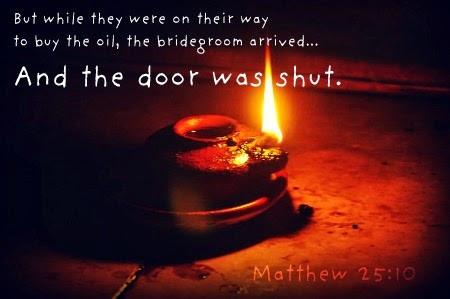 When Will the Door of Salvation Close?