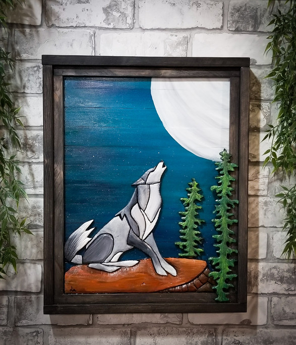 Howling wolf - 110$