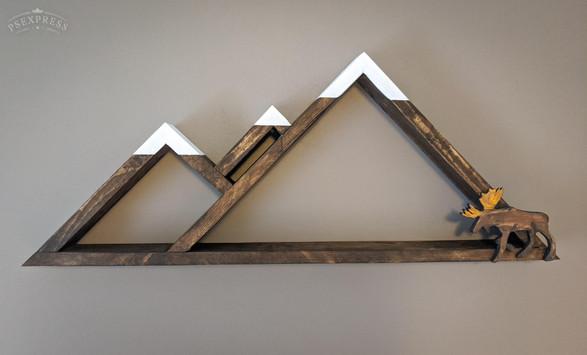 Mountain key hanger 50$