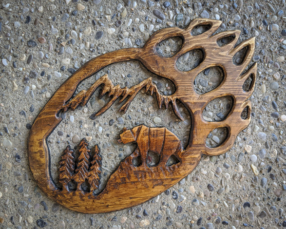 Mountain Bear paw - 60$