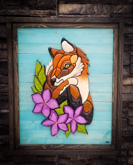 Flower fox - 145$