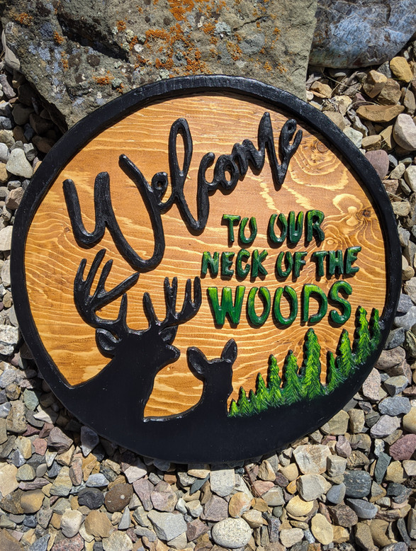 Our neck of the woods - 125$