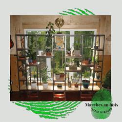 Bibliothèque pour plantes