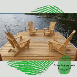 Chaises Adirondacks