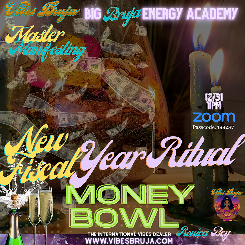 New Year Money Bowl Ritual
