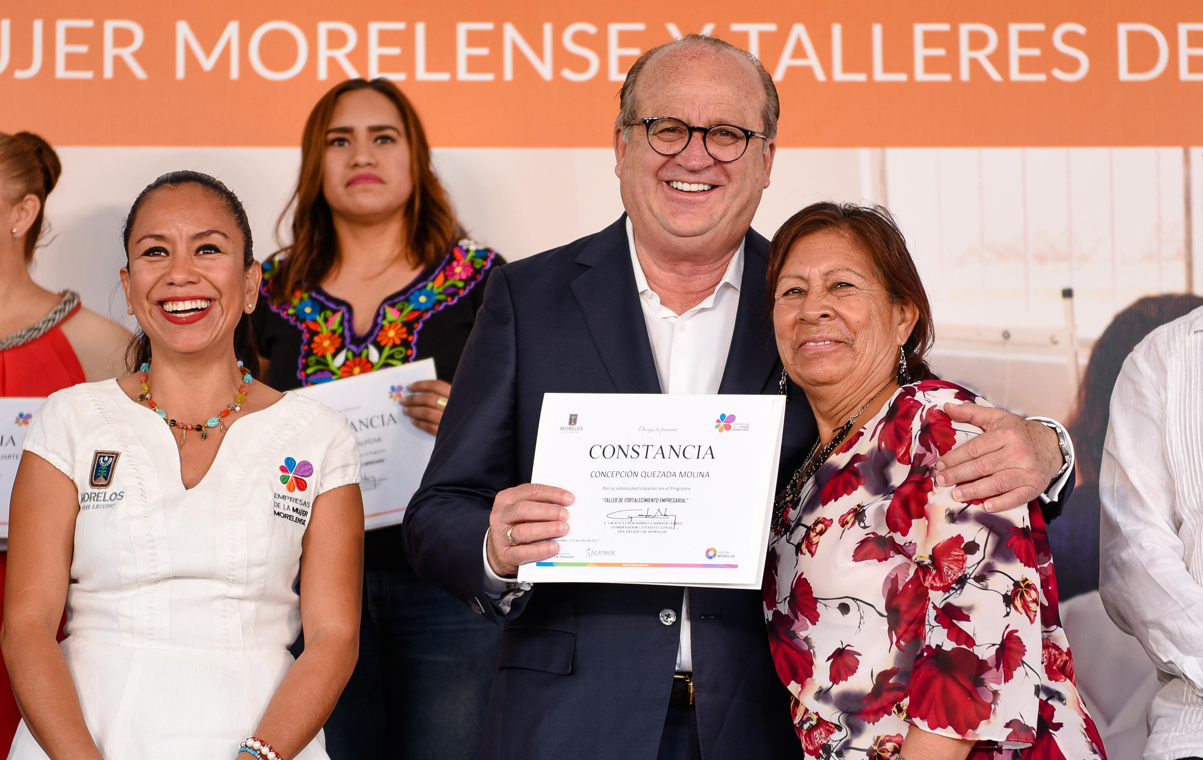 Graco Ramírez entregó equipo y certificados a los talleres de ...