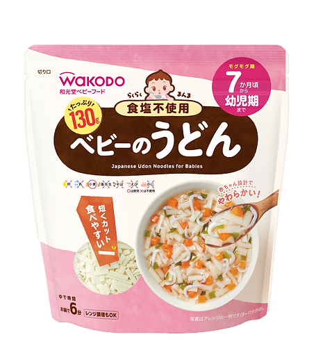 WAKODO Japanese Udon Noodles for Babies