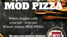 Spirit Night at MOD Pizza