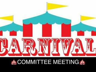 Carnival Planning Begins